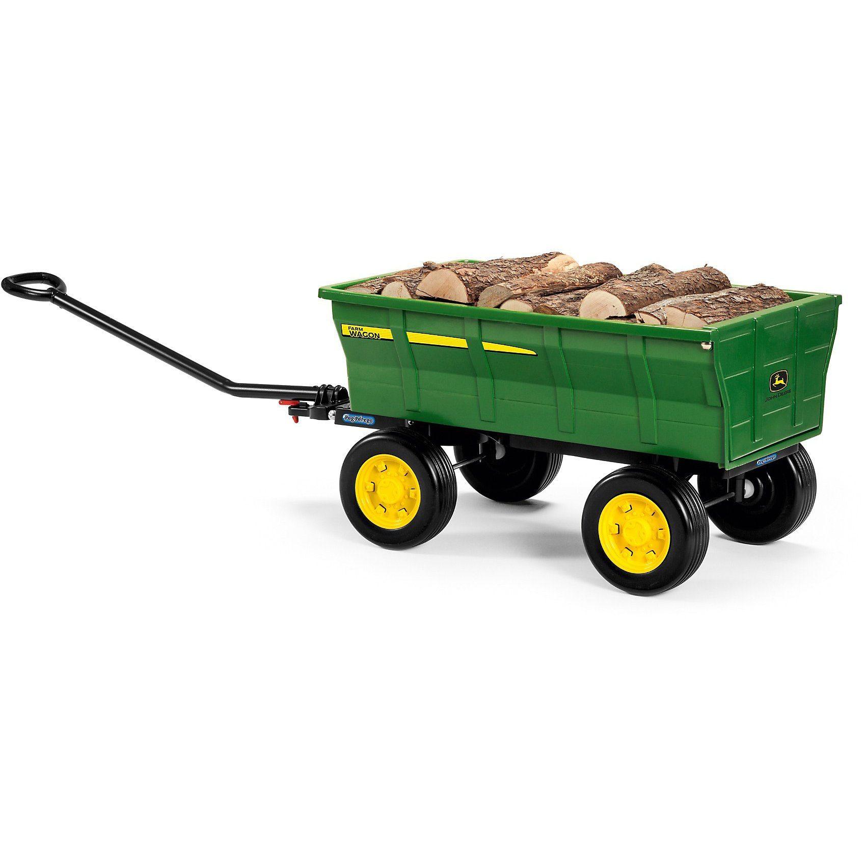 Peg Perego John Deere Anhänger/ Handwagen