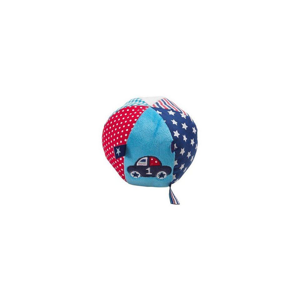 bébé-jou Rasselball 1-2-3, blau in blau