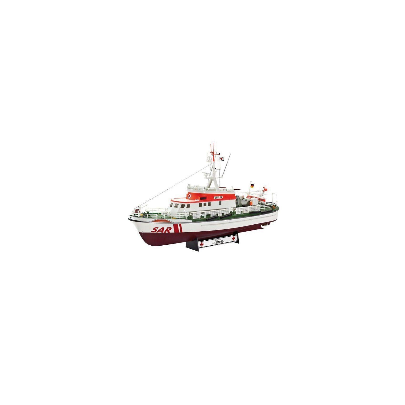 Revell Modellbausatz Seenotkreuzer BERLIN im Maßstab 1:72