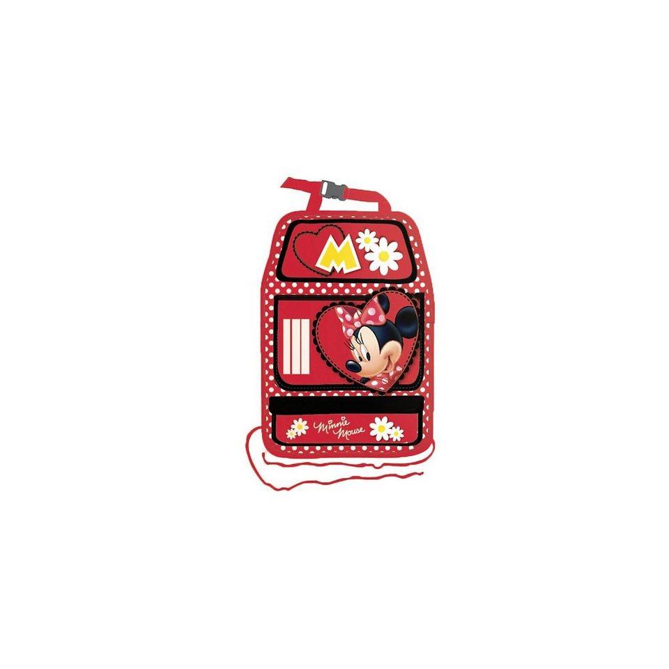 Kaufmann Auto- Rückenlehnentasche, Minnie Mouse in rot
