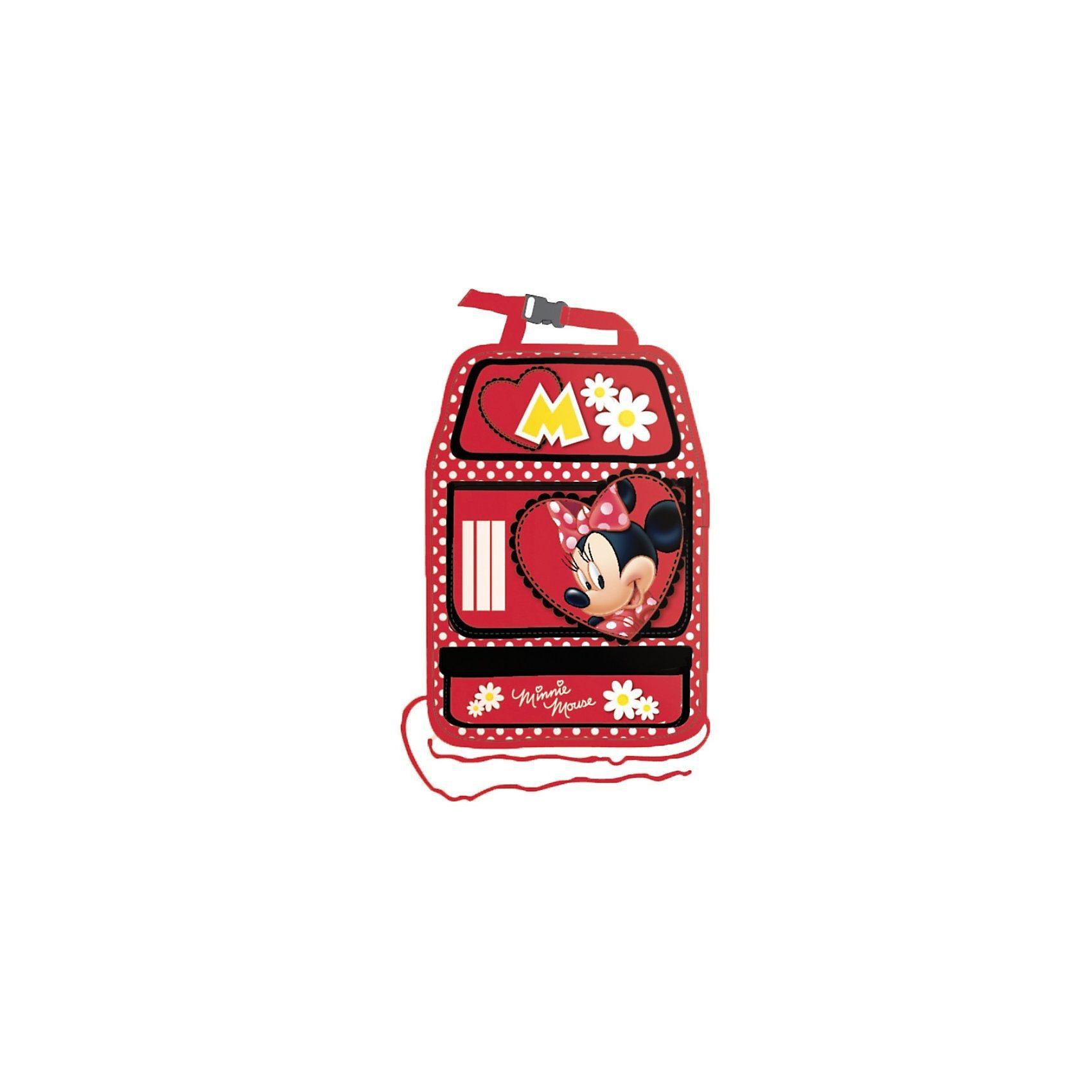 Kaufmann Auto- Rückenlehnentasche, Minnie Mouse