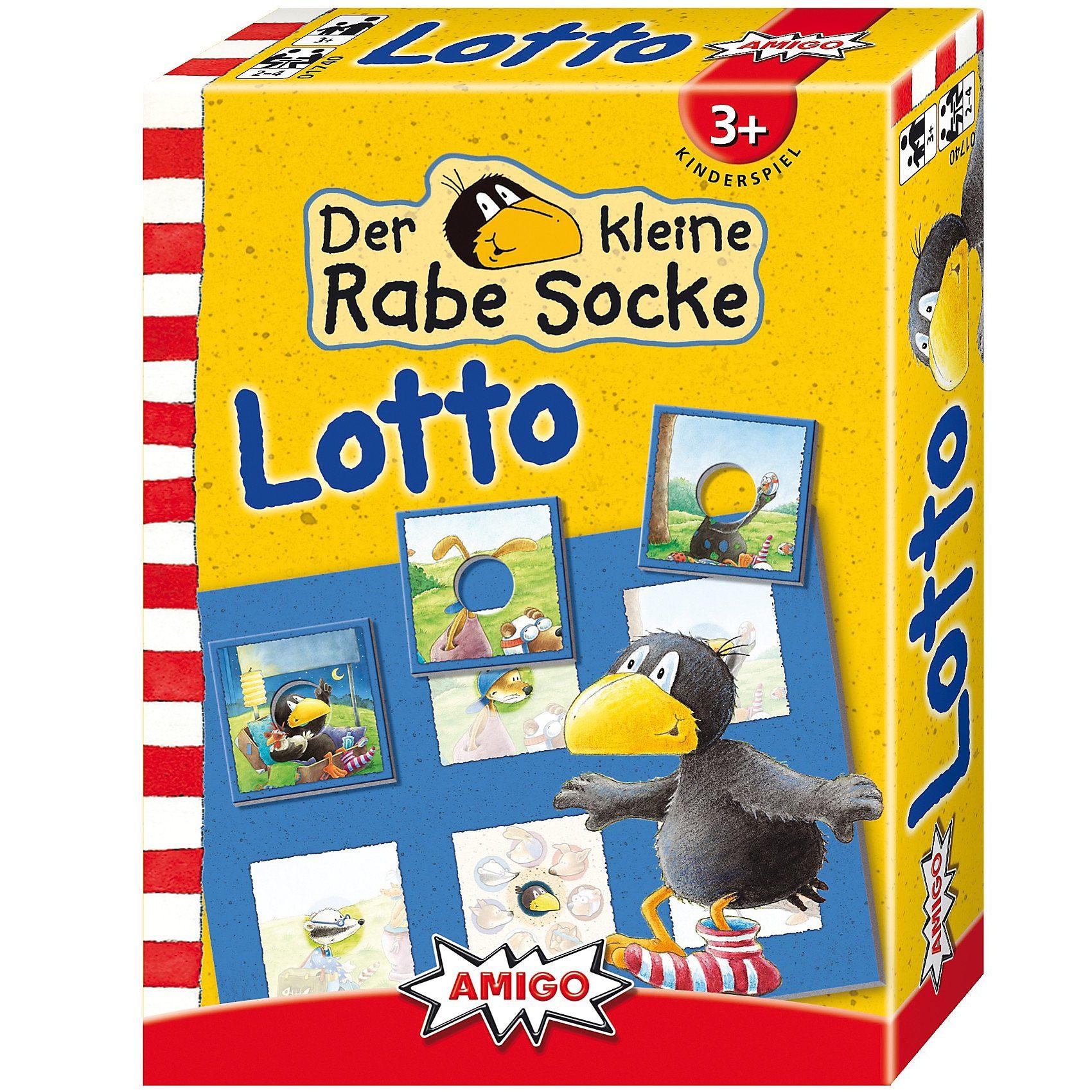 Amigo Rabe Socke - Lotto