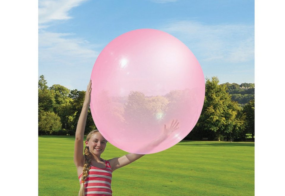 Vivid Ball inklusive Pumpe »Wubble Bubble Ball« in pink