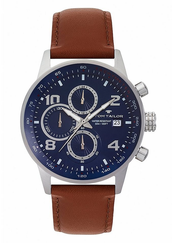 "Tom Tailor, Chronograph, ""5414005"" in braun"