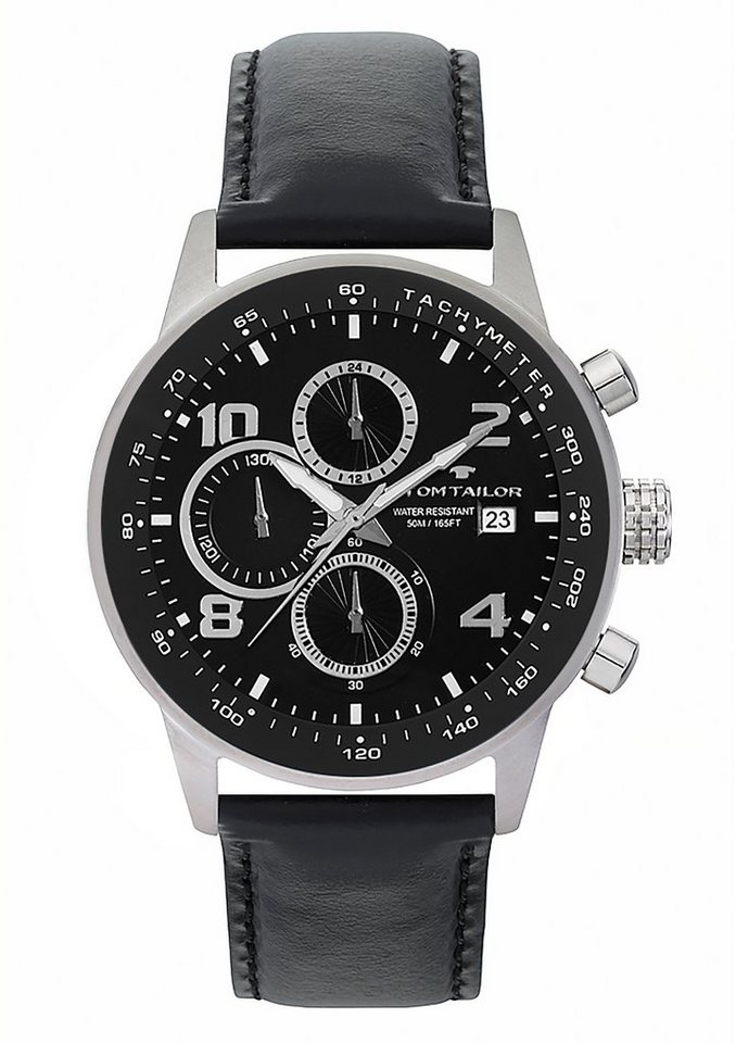 Tom Tailor Chronograph »5414004« in schwarz