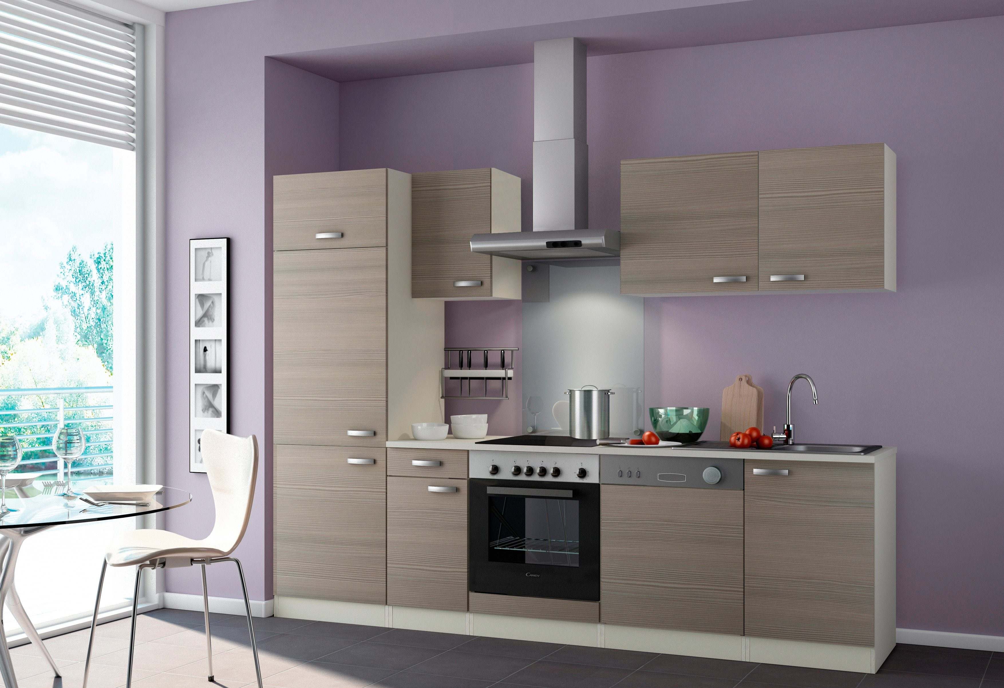 Optifit Küchenzeile ohne E-Geräte »Vigo«, Breite 270 cm