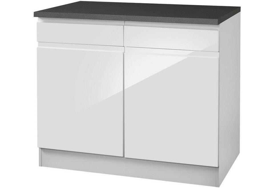 HELD MÖBEL Küchenunterschrank »Virginia, Breite 100 cm« online ...