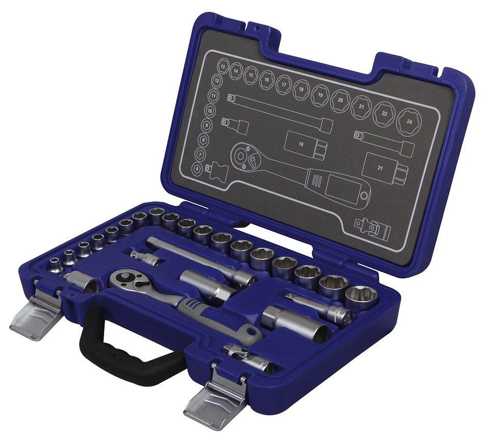 Steckschlüsselsatz »MSS-26-3/8« in blau