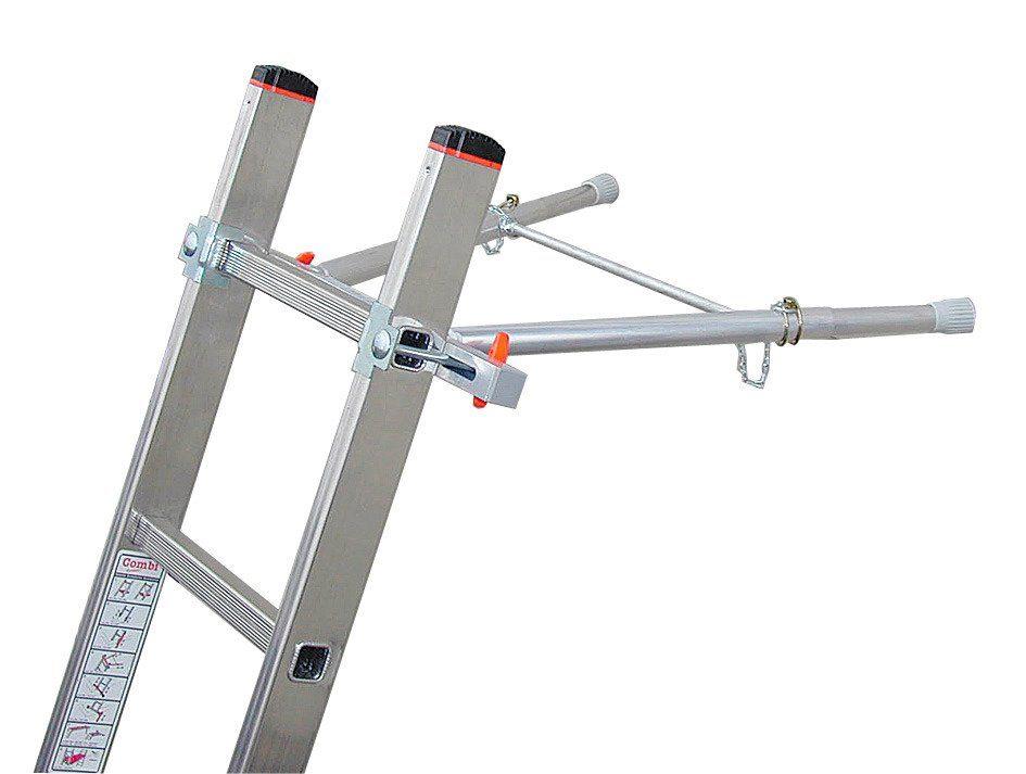 Teleskopleiter woerther teleskopleiter m grafitek schutzhÜlle
