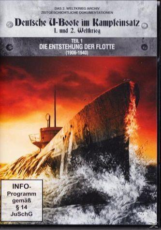 DVD »Deutsche U-Boote im Kampfeinsatz 1906 - 1940«