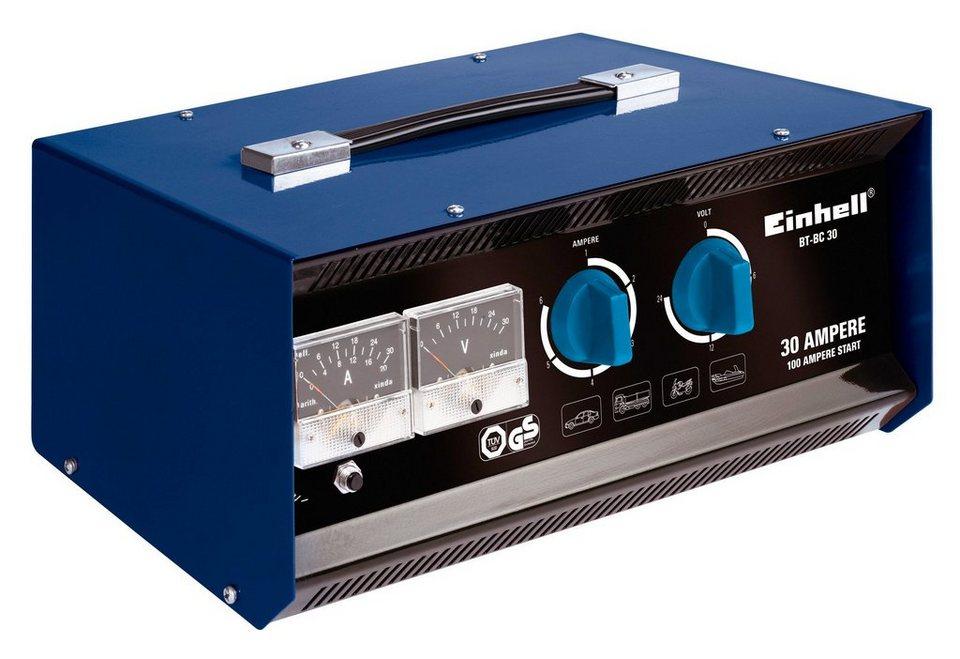 Batterieladegerät »BT-BC 30« in blau