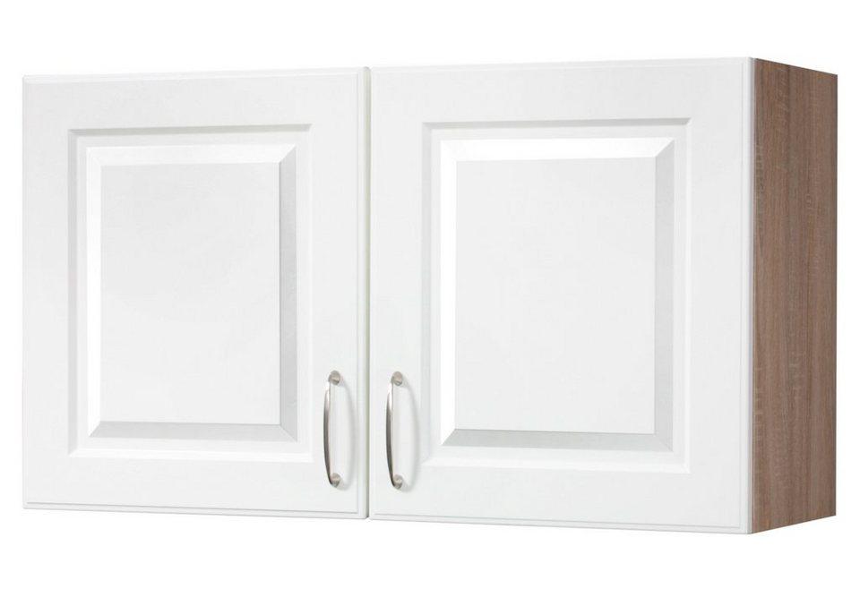 Hängeschrank »Tilda«, B/T/H: 100/35/56 cm in buchefarben/weiß