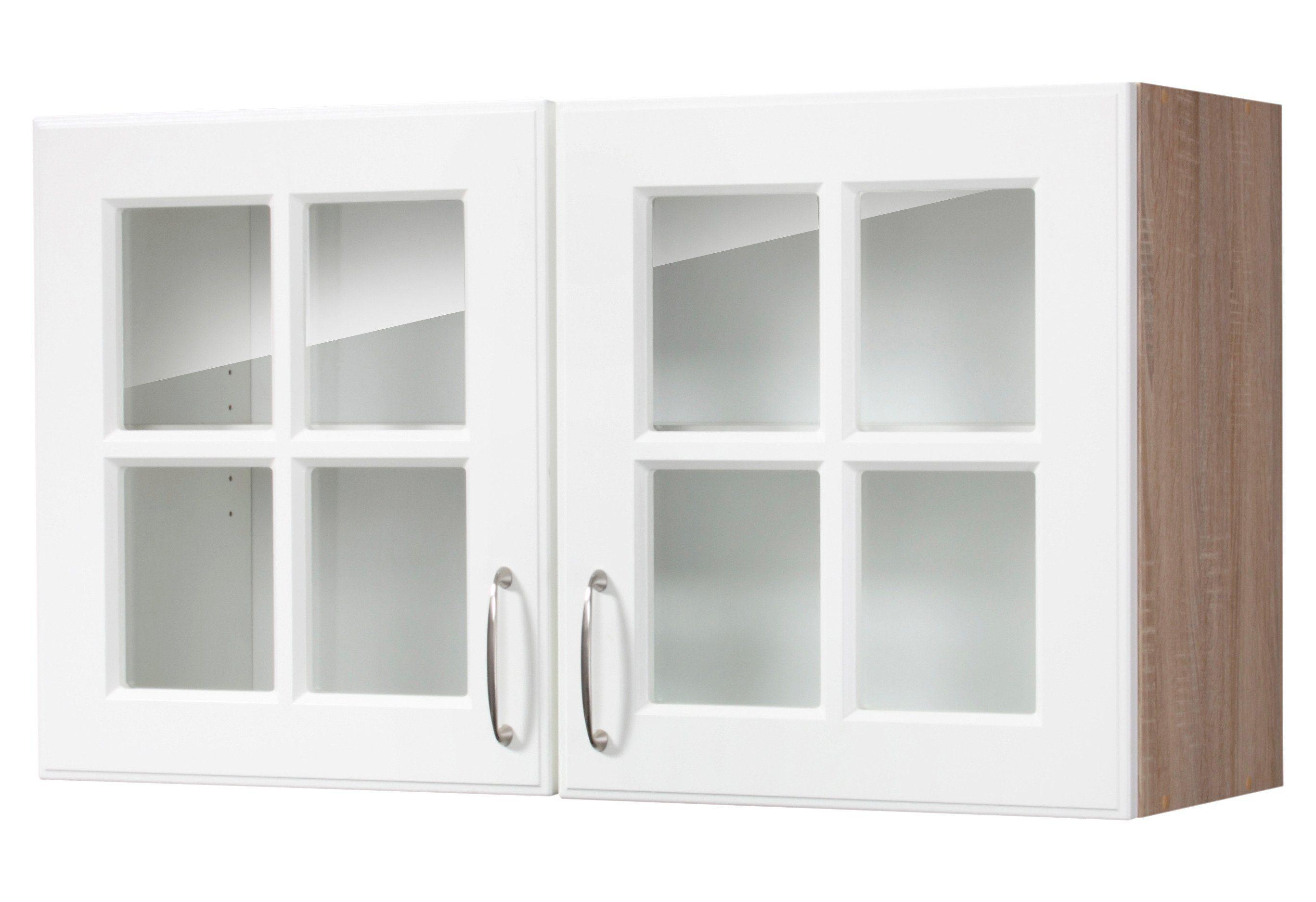 Glas-Hängeschrank »Tilda«, B/T/H: 100/35/56,5 cm