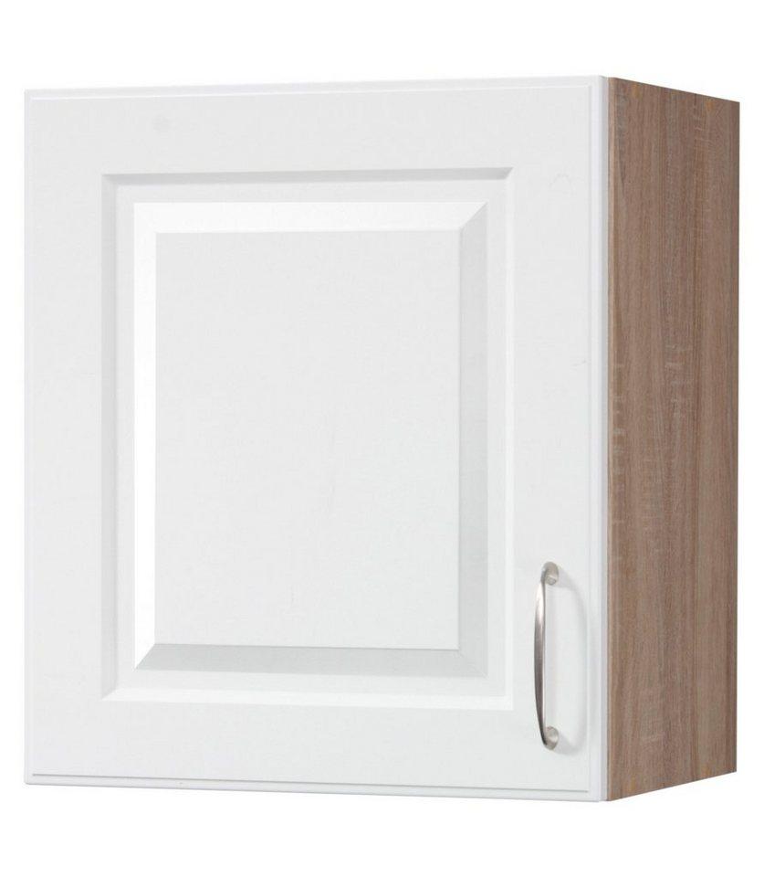 Küchenhängeschrank »Tilda«, B/T/H: 60/35/56 cm in weiß/eichefarben