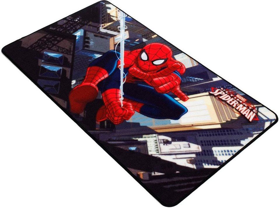 Kinder-Teppich, Marvel, »Spiderman SP-1« in rot