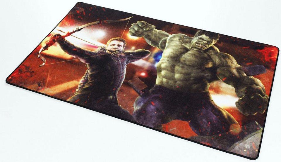 Kinder-Teppich, Marvel, »Avengers AV-3« in grün