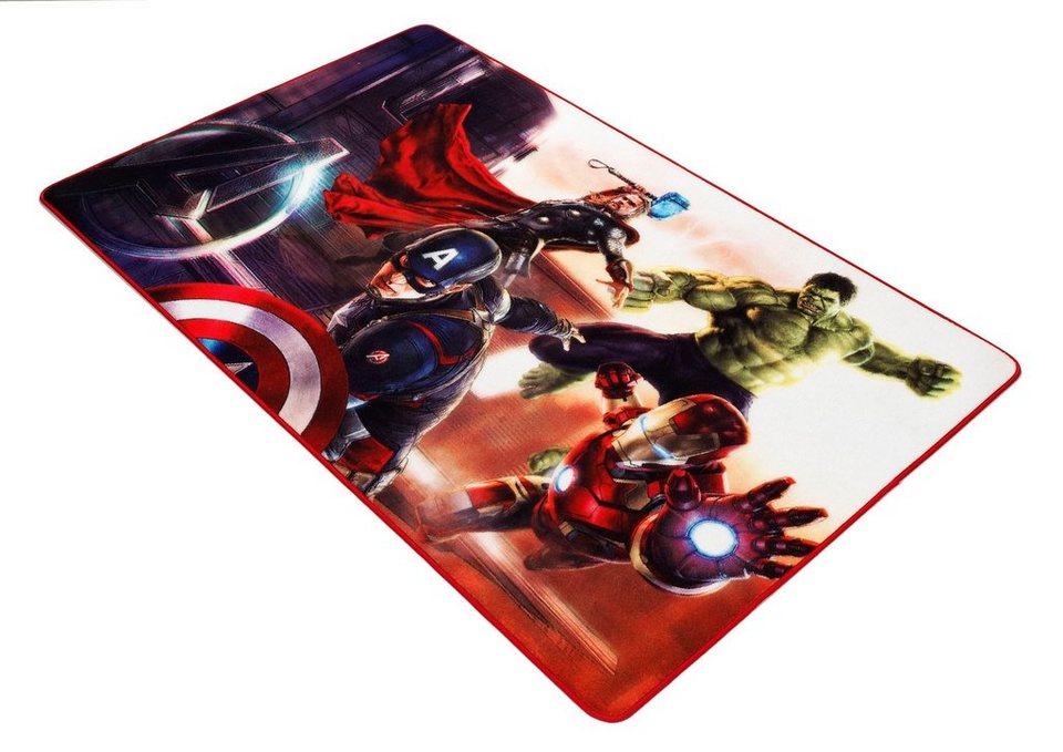 Kinder-Teppich, Marvel, »Avengers AV-2« in rot