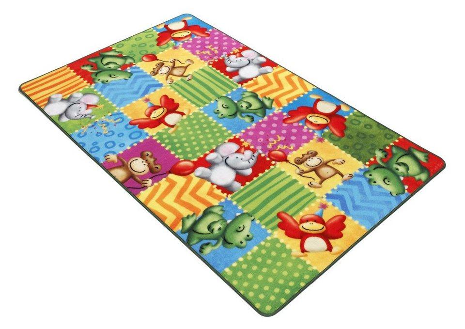 Fußmatte, Böing Carpet, »Lovely Kids LK-5«, rutschhemmend beschichtet in grün