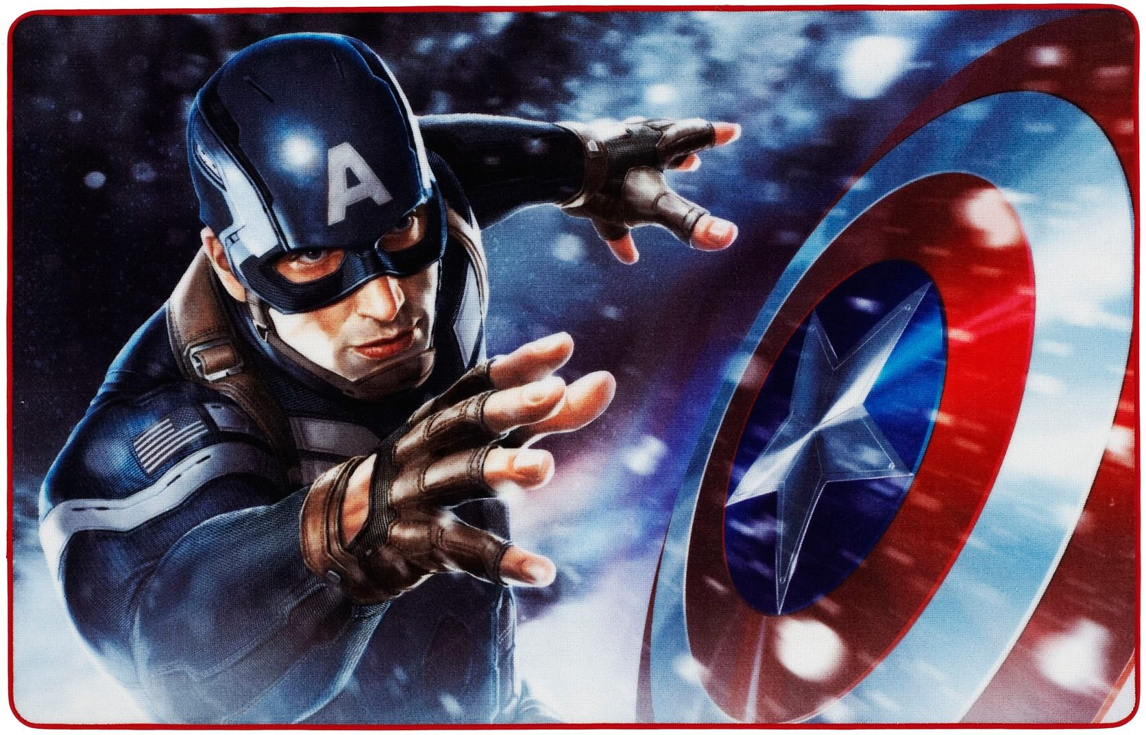 Kinder-Teppich, Marvel, »Captain America CA-1«