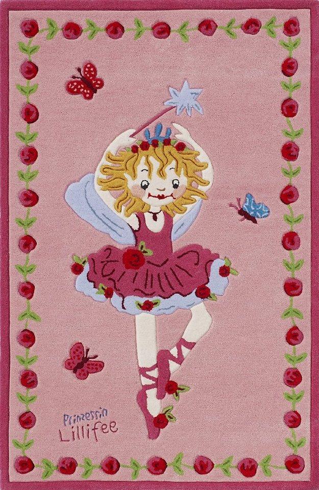 Teppich prinzessin lillifee li 2200 01 handgetuftet konturenschnitt brilliante farben - Wandsticker prinzessin lillifee ...