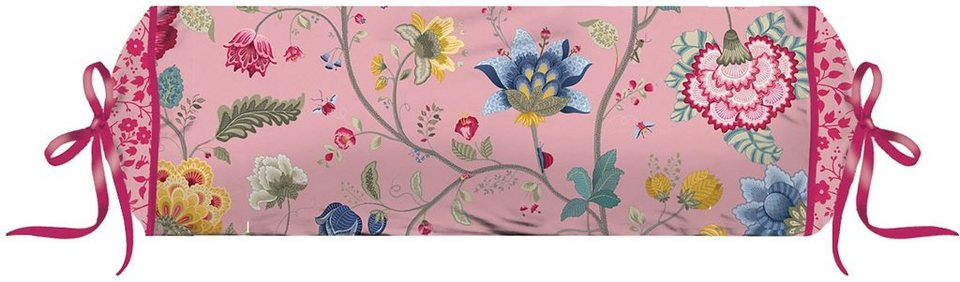 Nackenrolle, PiP Studio, »Floral Fantasy«, mit Blumen verziert in altrosa