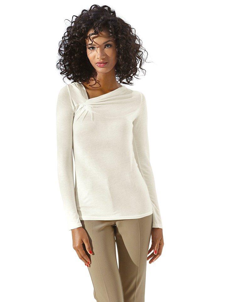 Bodyform-V-Shirt in offwhite