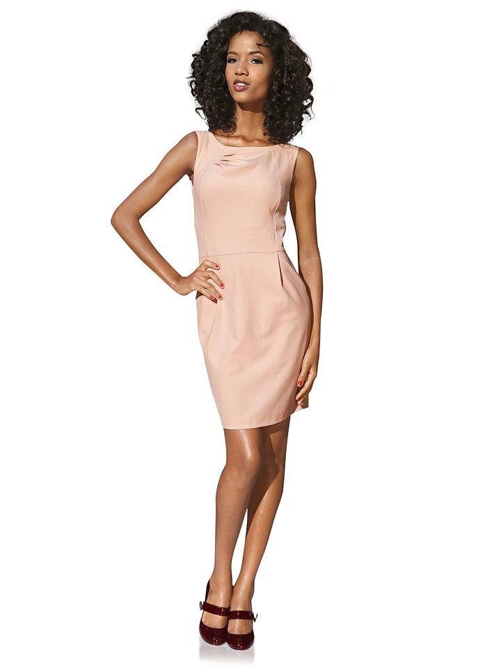ASHLEY BROOKE by Heine Bodyform-Etuikleid in rosé