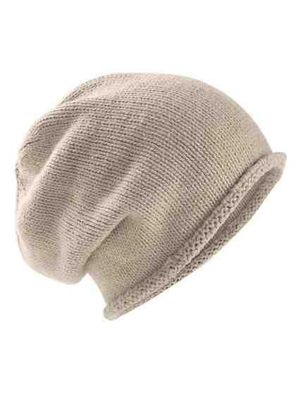 COLLEZIONE ALESSANDRO Mütze mit Alpakawolle