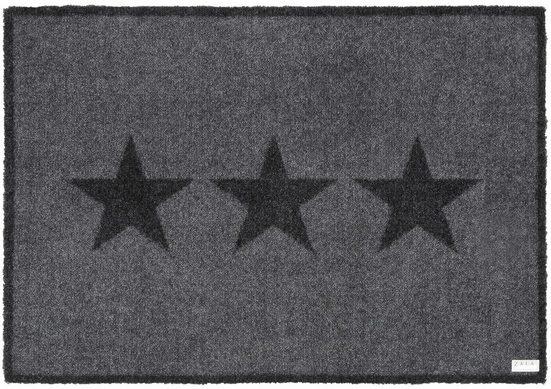 Fußmatte »Sterne«, Zala Living, rechteckig, Höhe 7 mm, Schmutzfangmatte