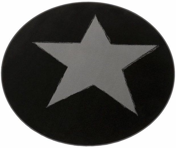Teppich »Stern«, HANSE Home, rund, Höhe 9 mm