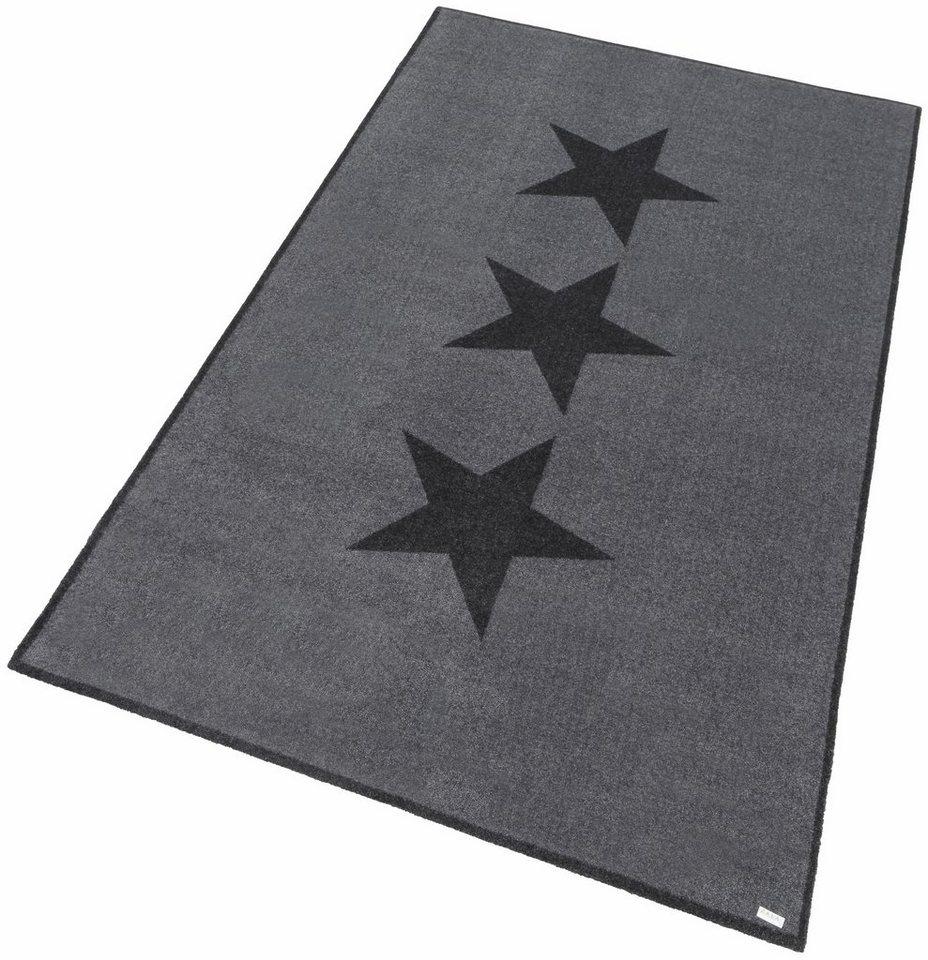 Teppich »Sterne«, Zala Living, rechteckig, Höhe 7 mm online kaufen ...
