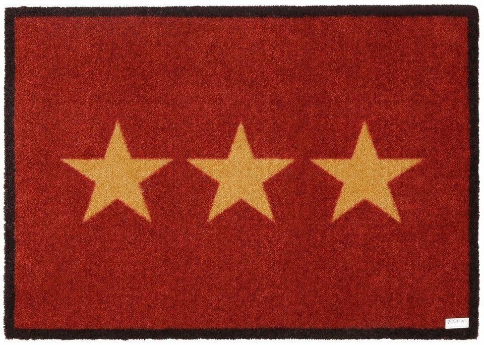 Schmutzfangmatte, Zala Living, »Sterne« in rot