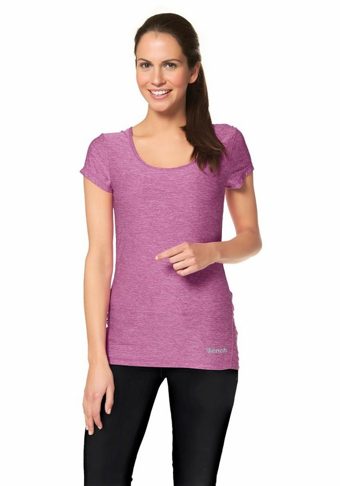 Bench Performance Funktions-T-Shirt in Lila