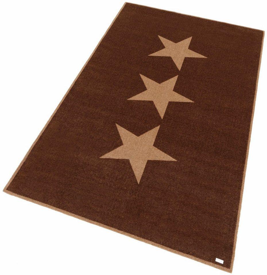Teppich, Zala Living, »Sterne« in braun