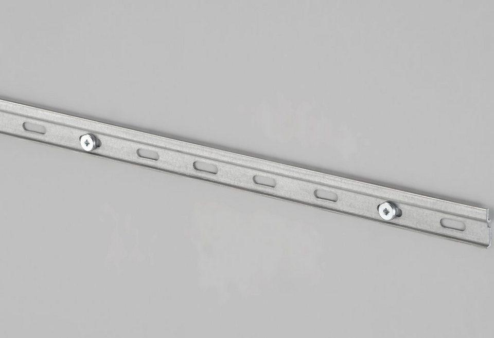 Küchenschränke Aufhängen Schiene – Dekoration Bild Idee