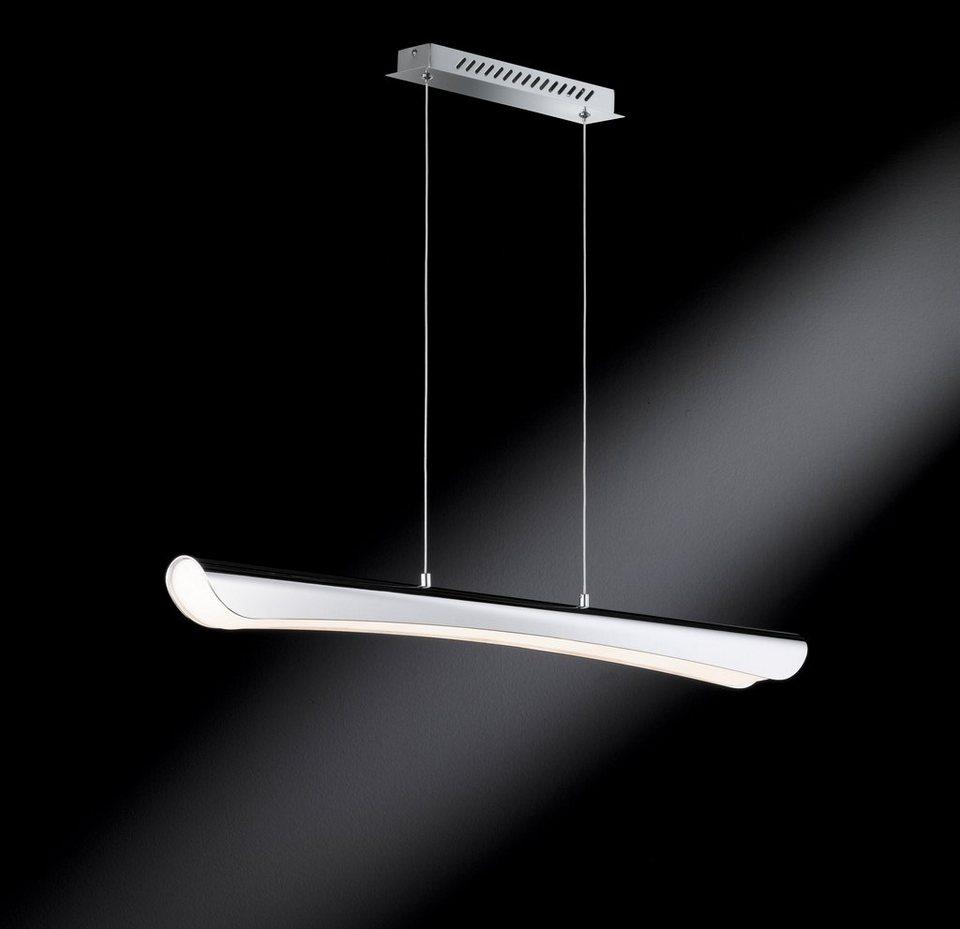 Pendelleuchte, inkl. LED, 1 flammig in Leuchte komplett Chrom