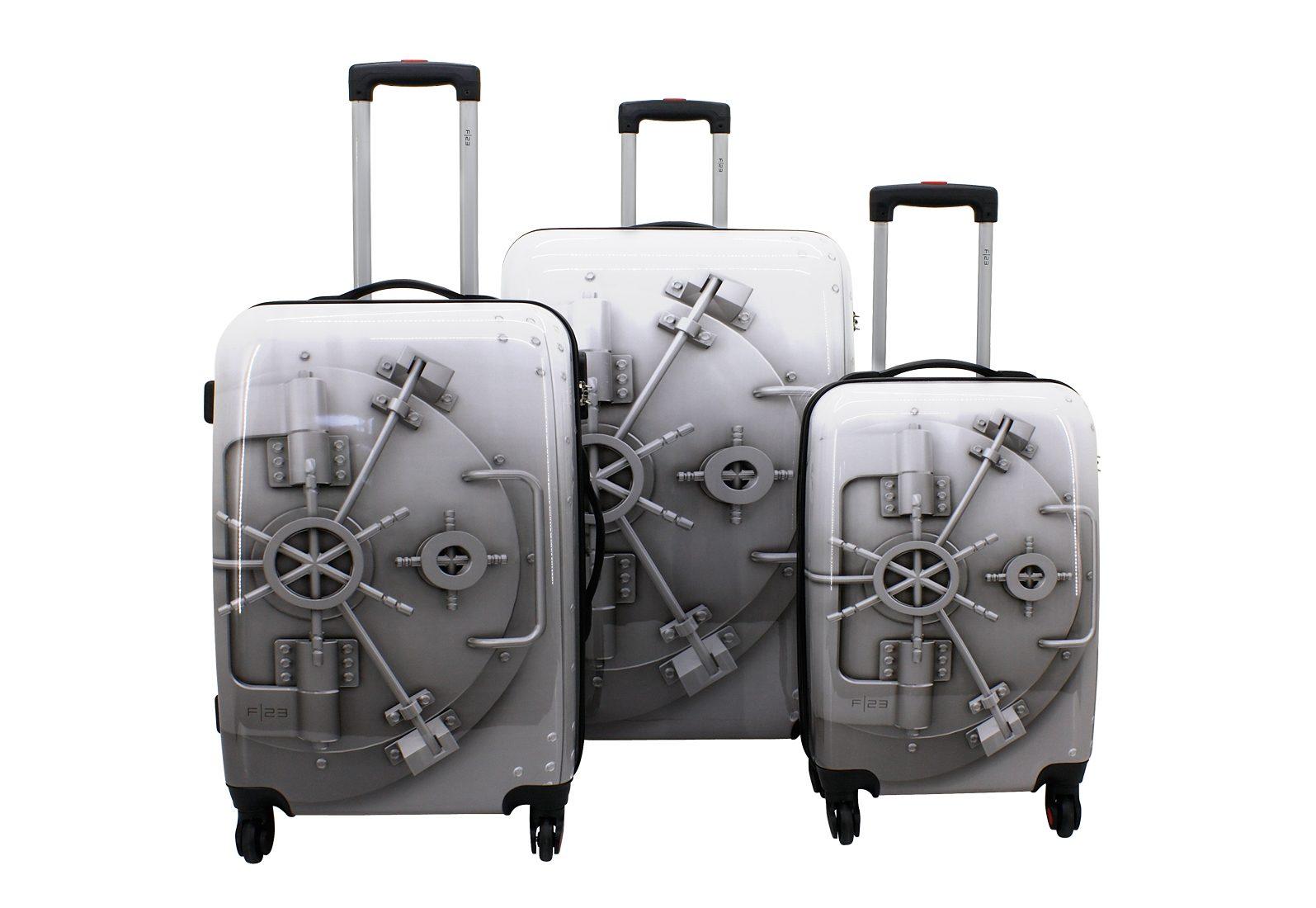 F23™ Trolley-Set mit 4 Twisterrollen, »Tresor« (3tlg.)