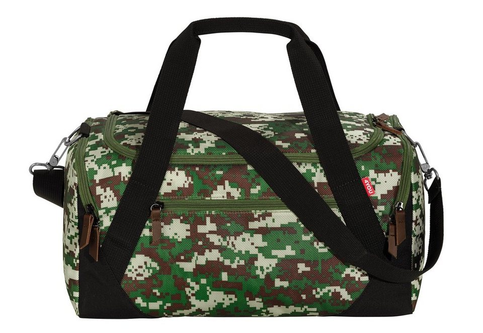 4YOU Sporttasche, »Sportbag« in Camouflage