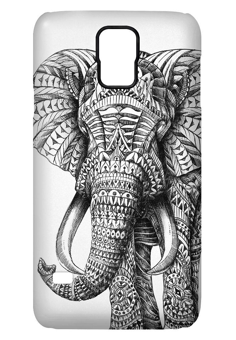 """caseable Premium Hülle für das Samsung Galaxy S5 »- """"Ornate Elephant"""" von BioWorkZ«"""