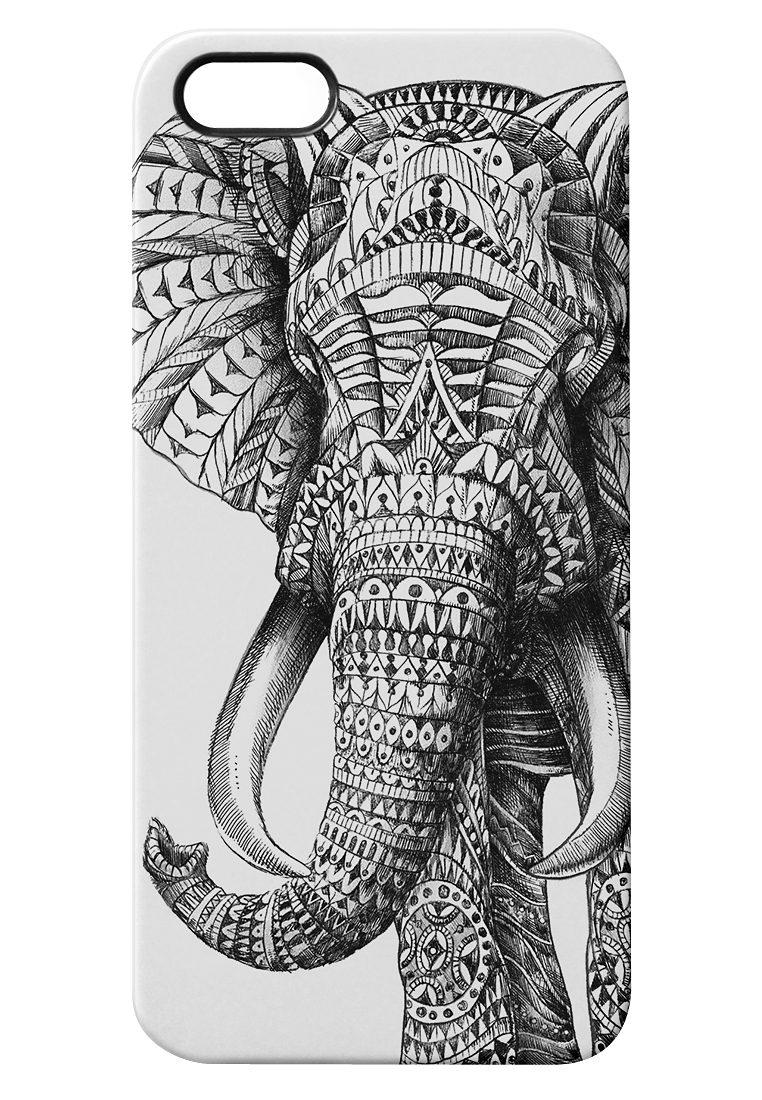 """caseable Premium Hülle für das iPhone 5 »- """"Ornate Elephant"""" von BioWorkZ«"""