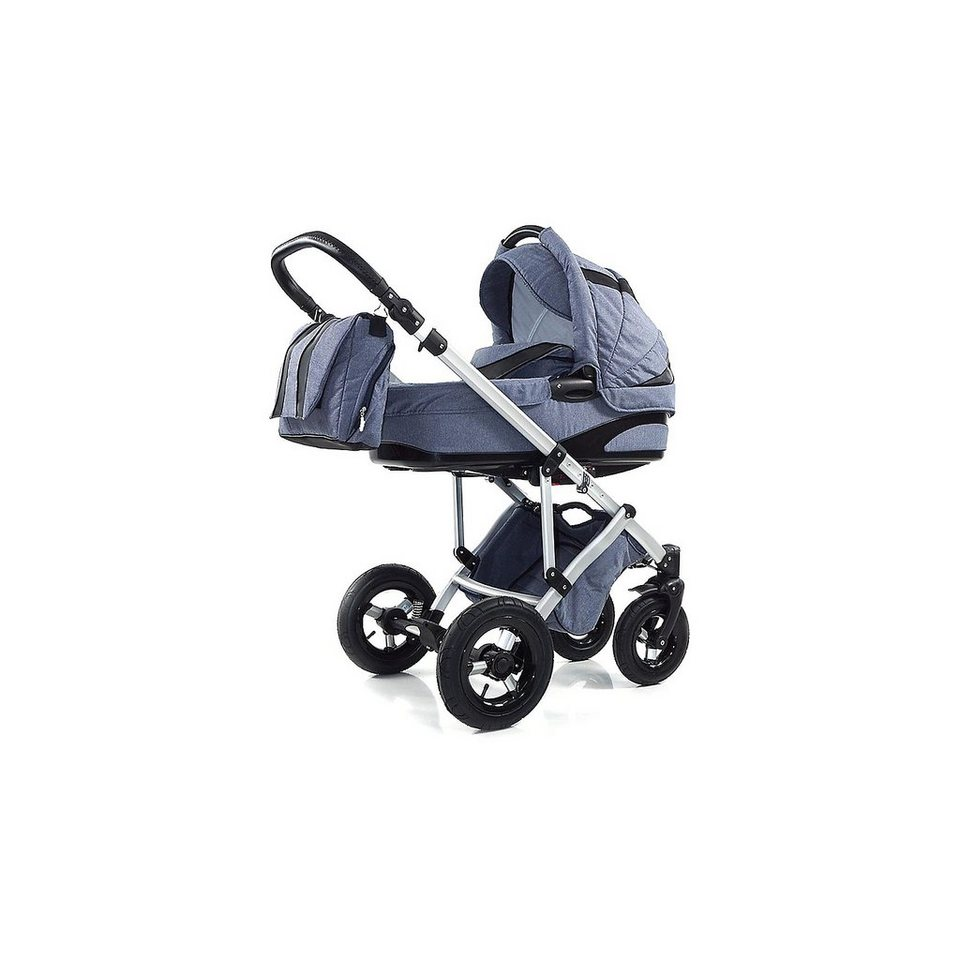 knorr baby kombi kinderwagen noxxter mit wickeltasche jeans online kaufen otto. Black Bedroom Furniture Sets. Home Design Ideas