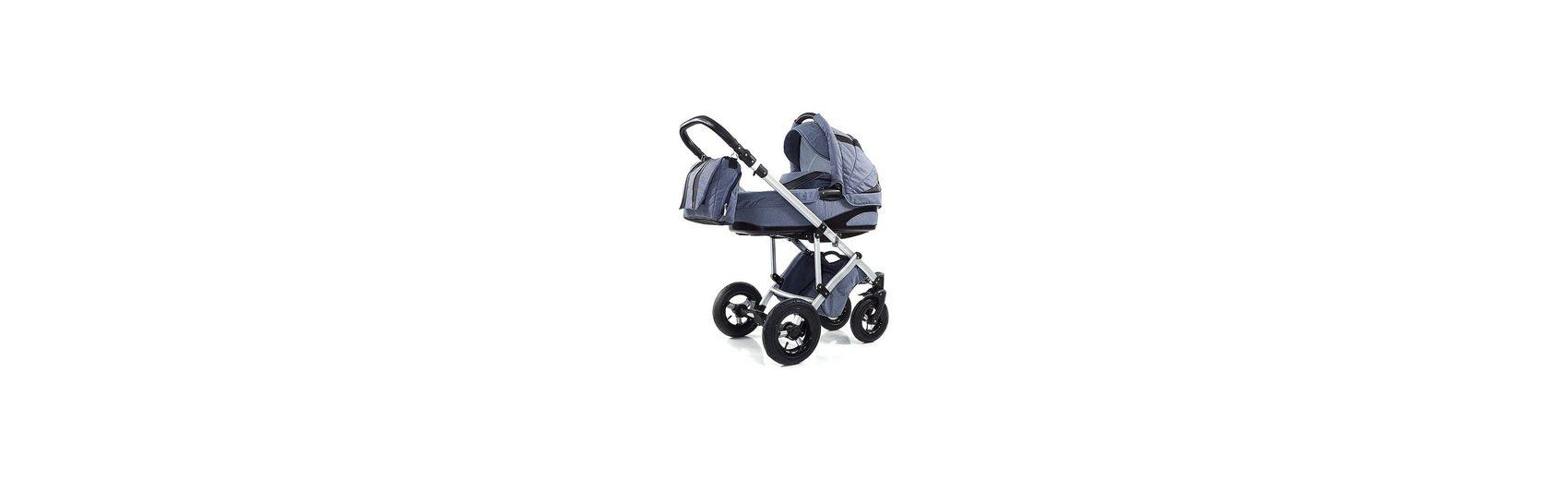 knorr-baby Kombi Kinderwagen NoXXter mit Wickeltasche, jeans