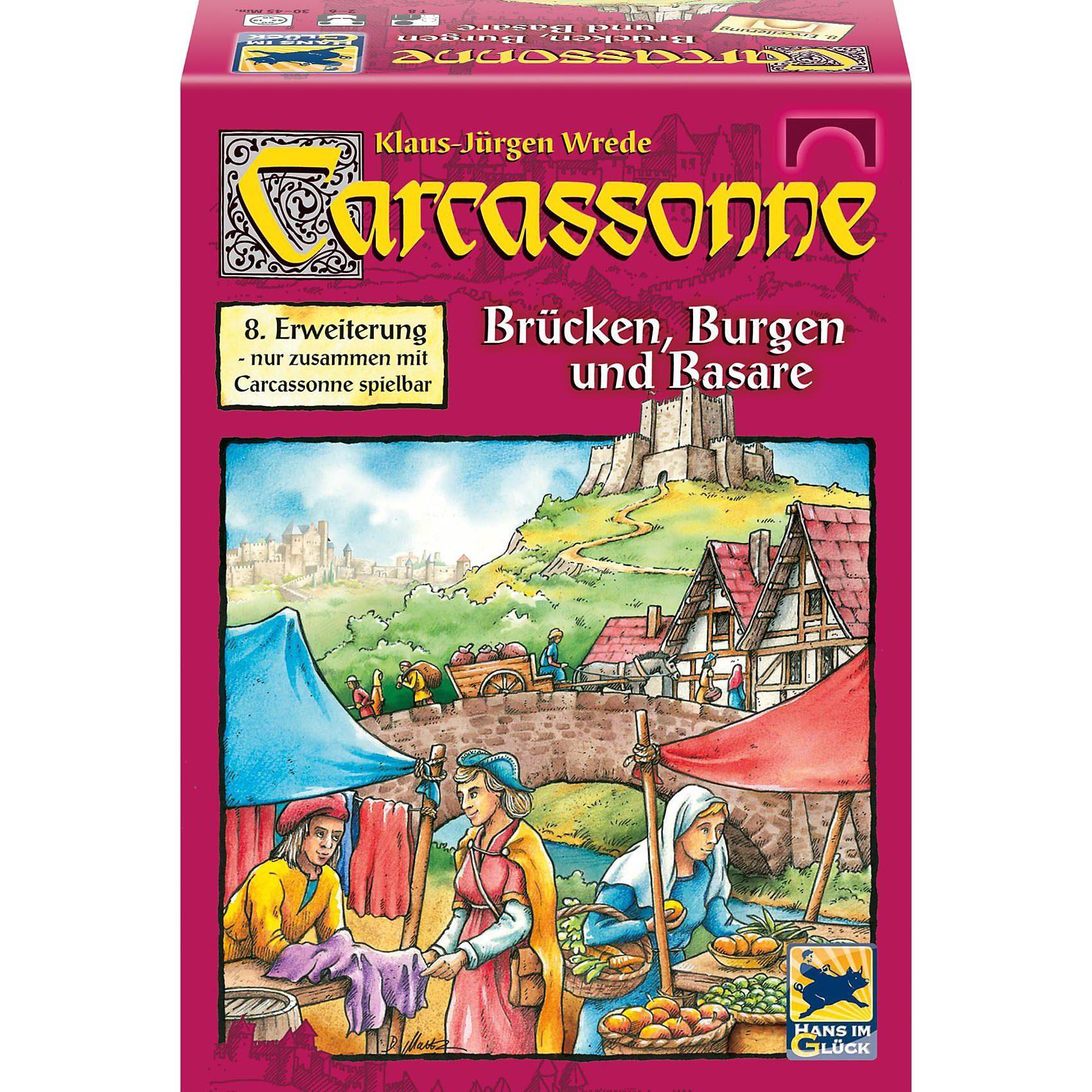 Hans im Glück Carcassonne, Burgen, Brücken und Basare (8.Erweiterung)