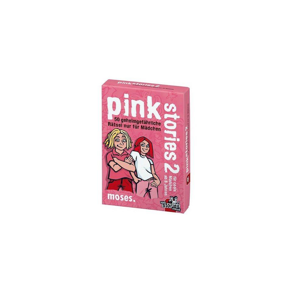 moses Pink Stories 2 - 50 geheimgefährliche Rätsel nur für Mädchen
