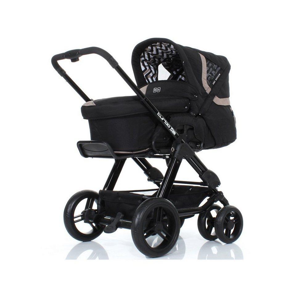 abc design kombi kinderwagen turbo 6s safari 2013 online kaufen otto. Black Bedroom Furniture Sets. Home Design Ideas