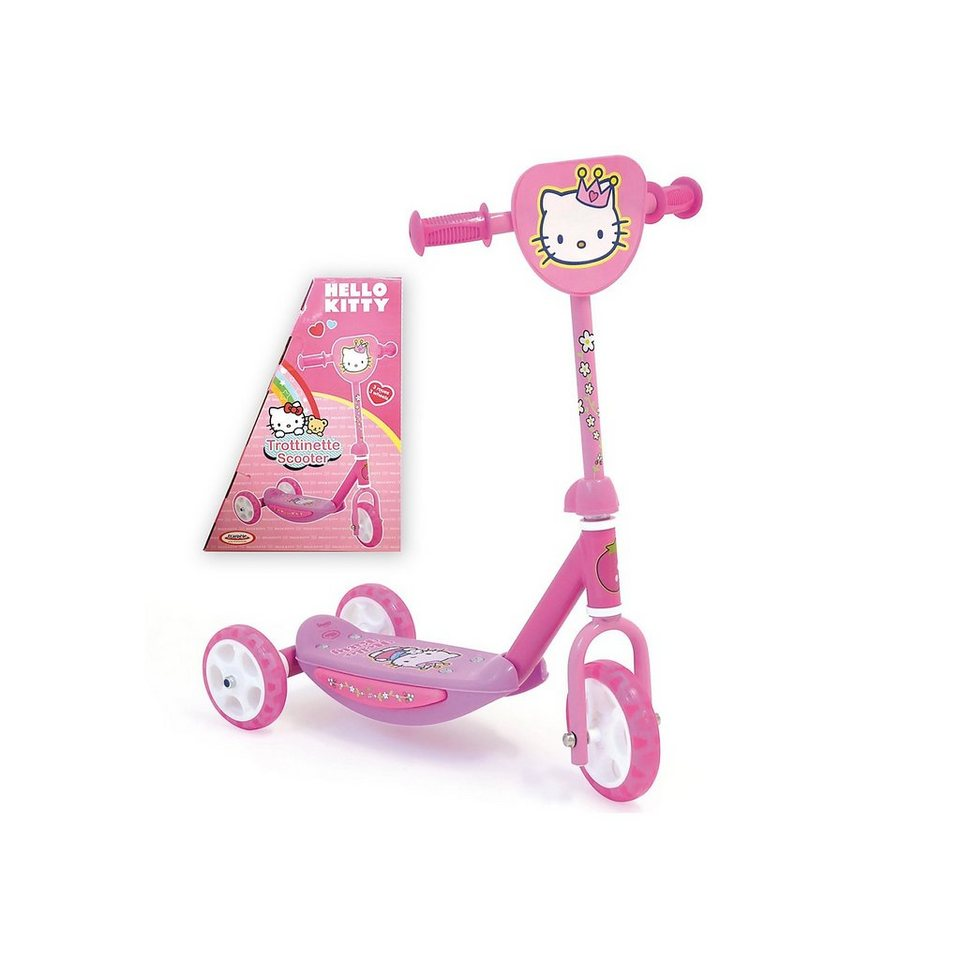 D'Arpèje Hello Kitty Scooter in rosa
