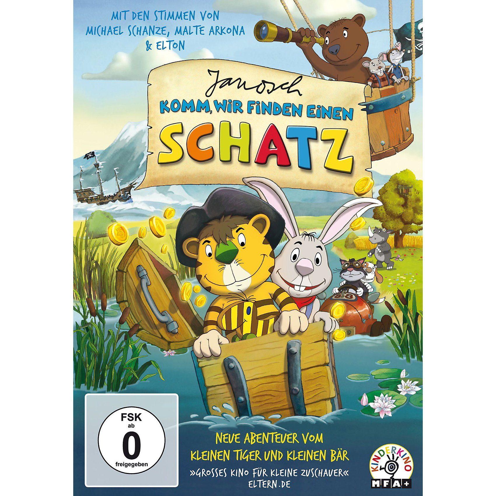 Universum Film GmbH DVD Janosch - komm wir finden einen Schatz