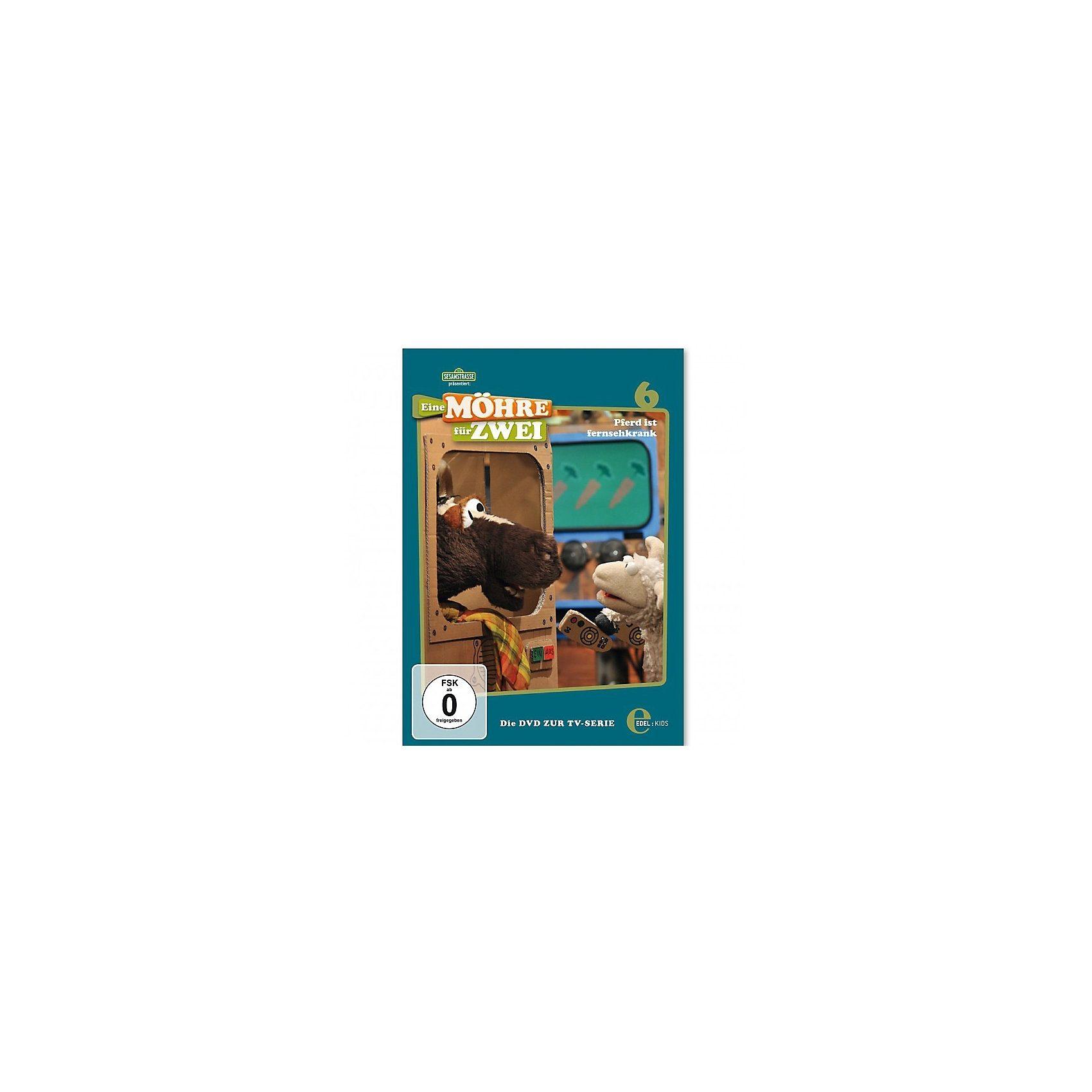 Edel Germany GmbH DVD Eine Möhre für Zwei Vol. 6 - Pferd ist fernsehkrank