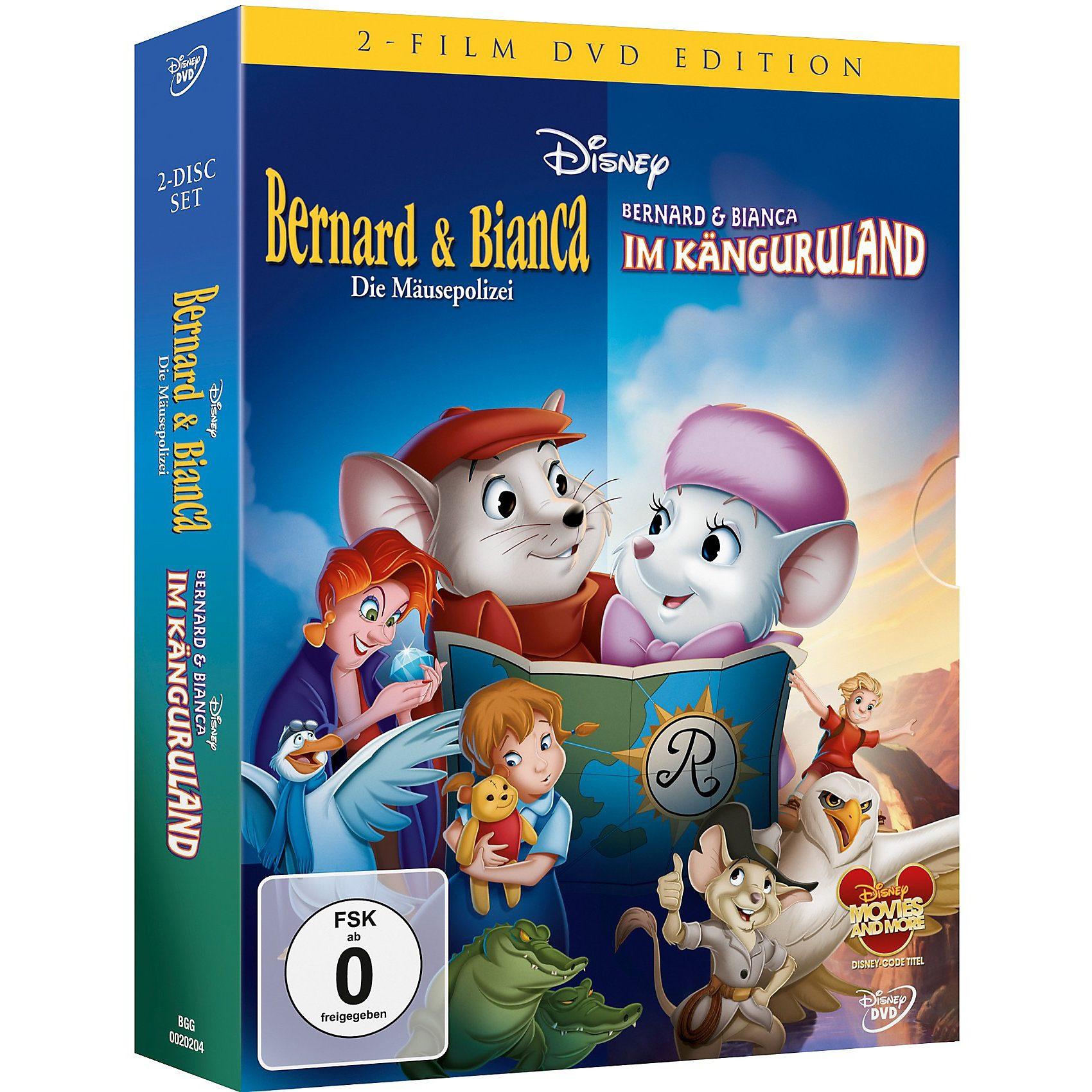 Disney DVD DVD Disneys Bernard und Bianca - Doppelpack (Teil 1+2)