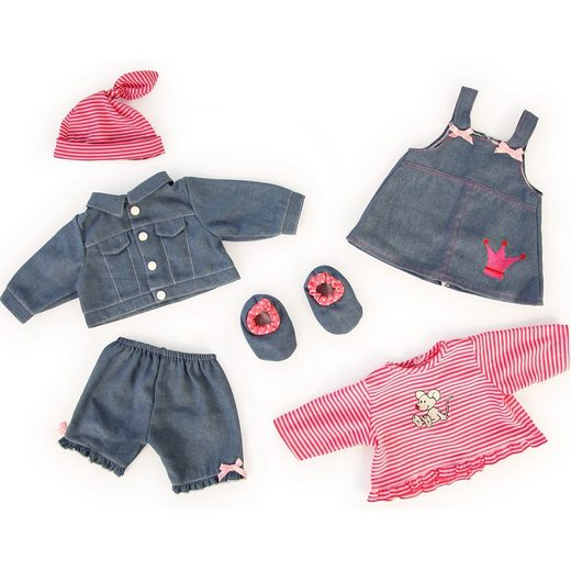 Bayer Puppenkleidung Jeans-Set, 42-46cm